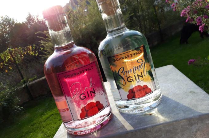 Schwarzwald Pink Gin & Sommer Gin