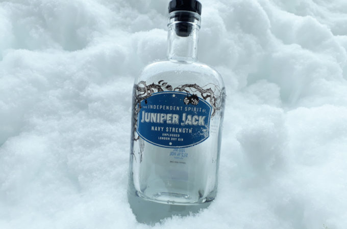 [Flasche leer] Juniper Jack Navy Strength