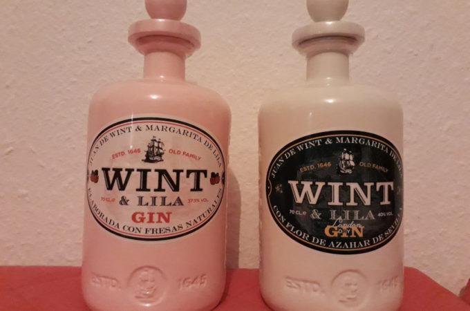 Wint & Lila London Dry Gin / Wint & Lila Strawberry Gin