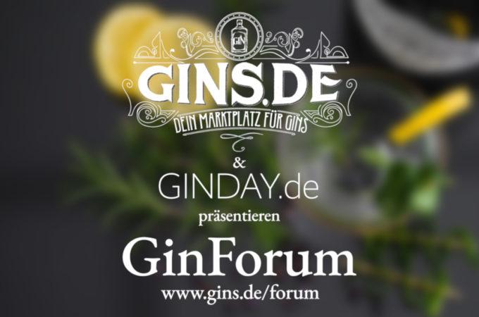 We proudly present: GinForum