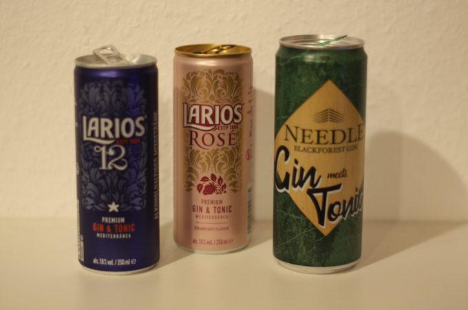 Pre-mixed Gin Tonic / Gin Tonic Dose - Teil 2 (Larios, Needle)