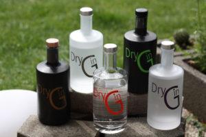 Graefenberger Dry Gin: Orange, Purple, Gold