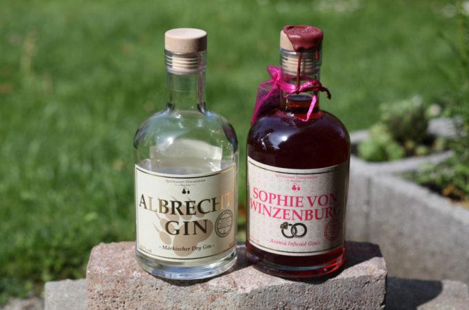 Albrecht Gin & Sophie von Winzenburg Gin