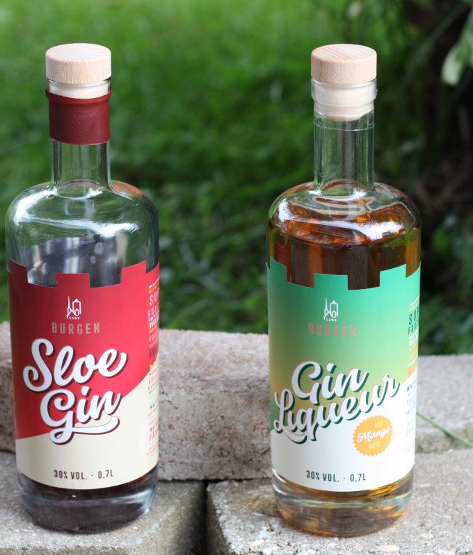 Burgen Sloe Gin - Burgen Gin Liqueur
