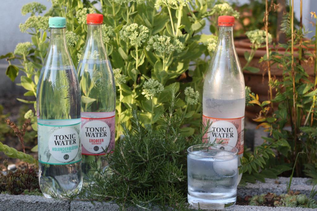 [Tonic Water] Lidl Tonic Water Erdbeer - Grapefruit-Rosmarin - Holunderblüten