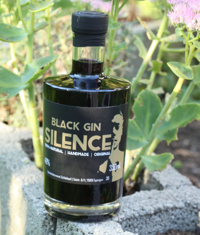 Glory of Silence Black Gin