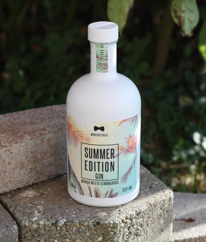 Monsieur Sauer Summer Edition Gin