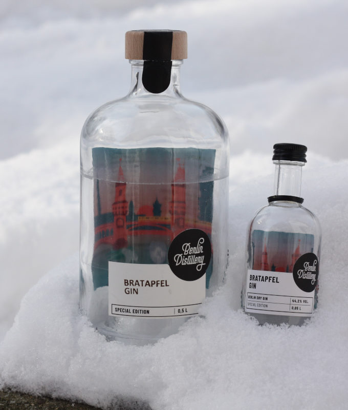 Berlin Distillery Bratapfel Gin - Update