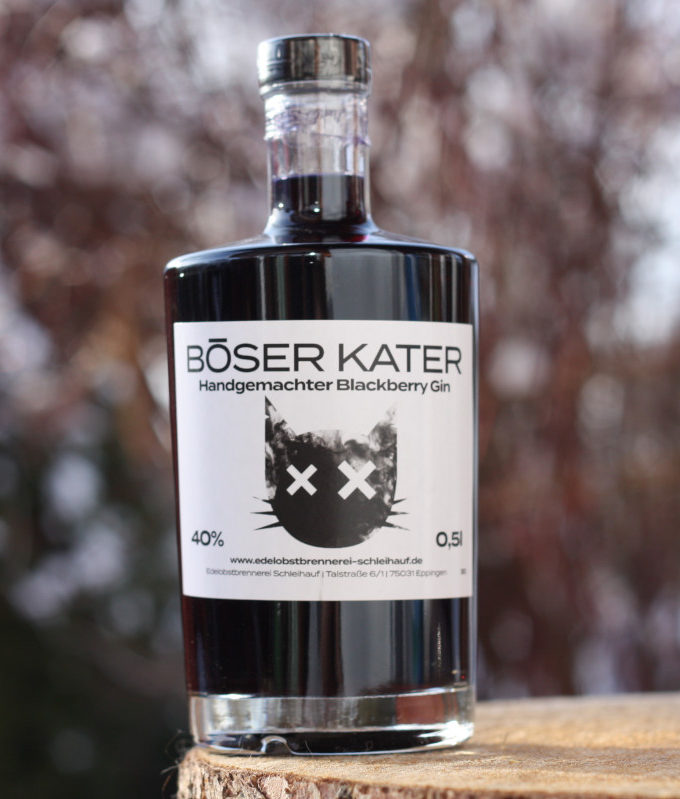 Böser Kater Blackberry Gin