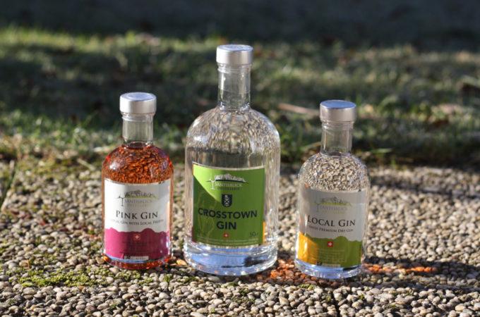 Säntisblick Destillerie Crosstown Gin