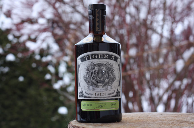 Tiger 5 Rarely Sighted Gin