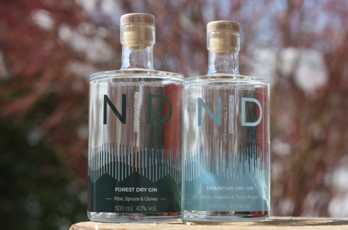 ND Forest Dry Gin - ND Mountain Dry Gin