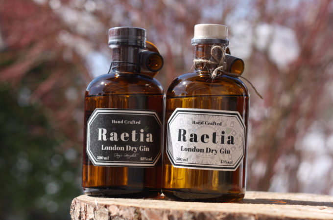 Raetia London Dry Gin
