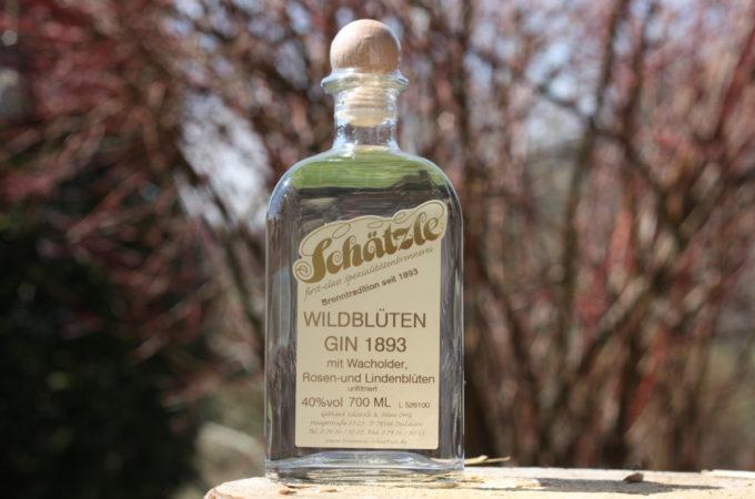 Schätzle Wildblüten Gin 1893