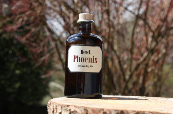 Dest. Phoenix Dresden Dry Gin