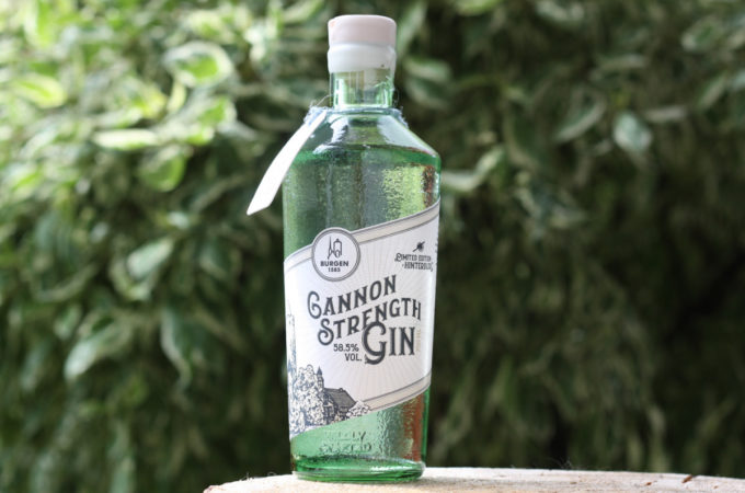 Burgen Bio Dry Gin Cannon Strength