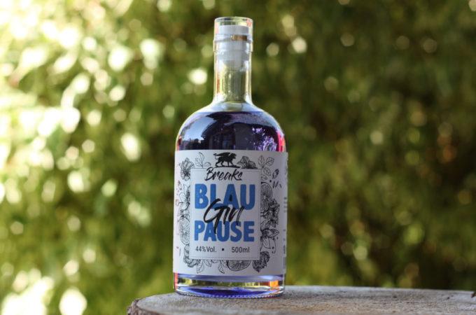 Breaks Gin Blaupause